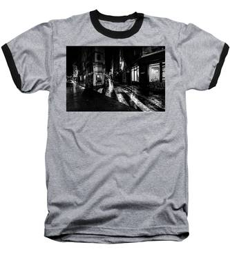 Paris At Night - Rue De Seine Baseball T-Shirt