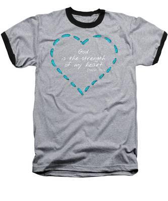 Psalm 73 Baseball T-Shirt