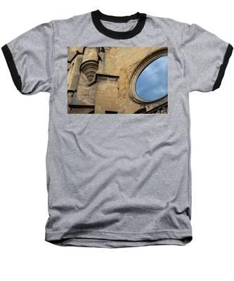 Reflection, Sarlat, France Baseball T-Shirt