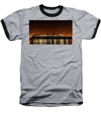 Rms Queen Mary Baseball T-Shirt