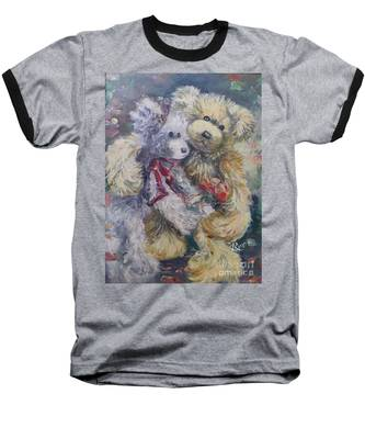 Teddy Bear Honeymooon Baseball T-Shirt