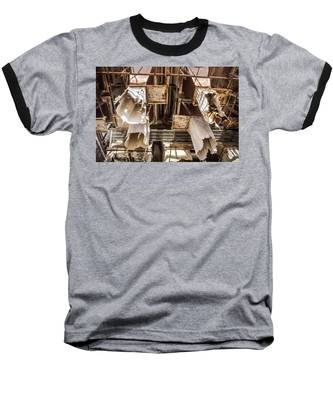 The Ghost Of Factories Past Baseball T-Shirt