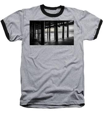The Light Downunder - B And W Baseball T-Shirt