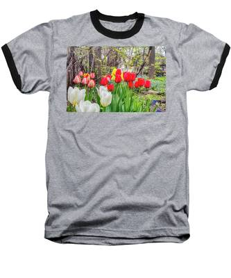 The Tulips Are Out. Baseball T-Shirt