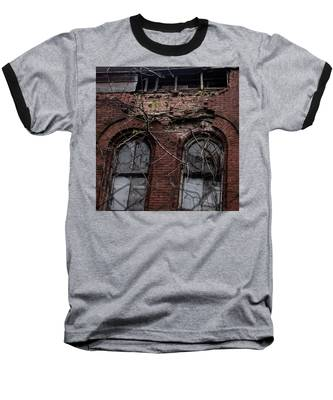 Time's Cathedral Baseball T-Shirt