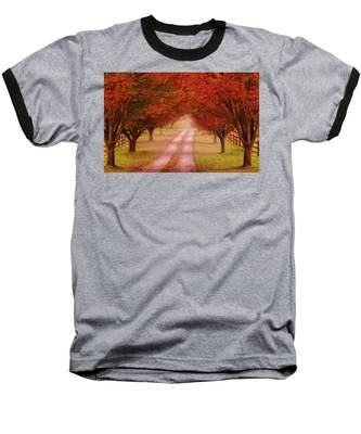 Way To The Farm Baseball T-Shirt