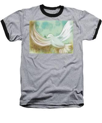 Wings Of Peace Baseball T-Shirt