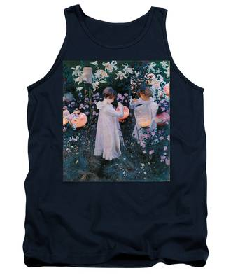 Carnation Lily Lily Rose Tank Top