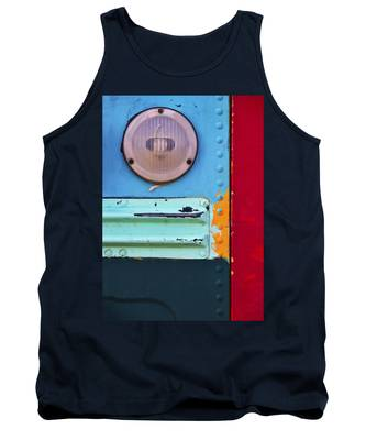 Tank Top featuring the photograph Old School by Skip Hunt