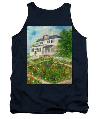 Spring In Colonial Williamsburg- Cole House Tank Top