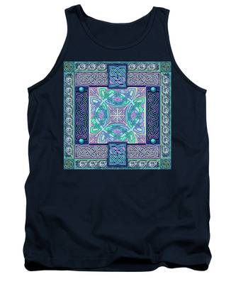 Celtic Atlantis Opal Tank Top