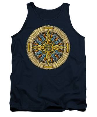 Celtic Compass Tank Top