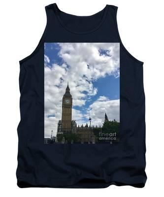 London England  Big Ben Tank Top