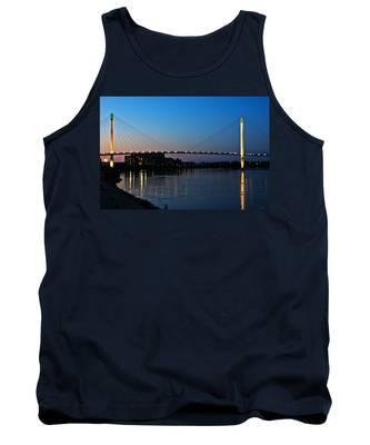 Sunset On The Bob Kerry Pedestrian Bridge Tank Top