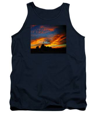 Sunset Ybor City Tampa Florida Tank Top