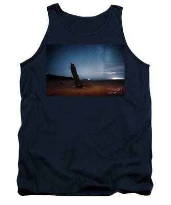 Gower Helvetia At Night  Tank Top