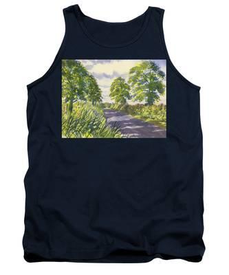 Hedgerows On Rudston Road Tank Top