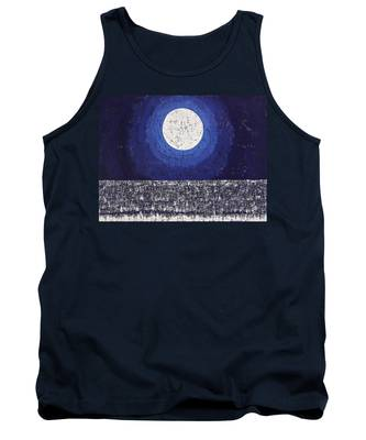 Moonbathing Original Painting Tank Top
