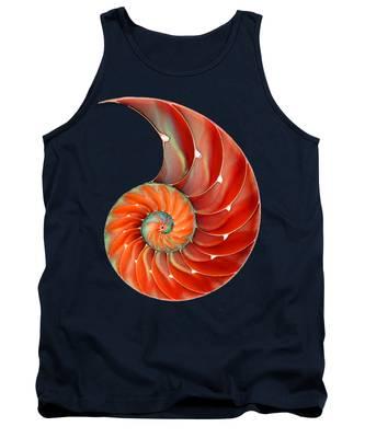 Seashells Tank Tops