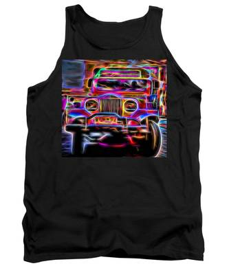 the Jeepney Tank Top