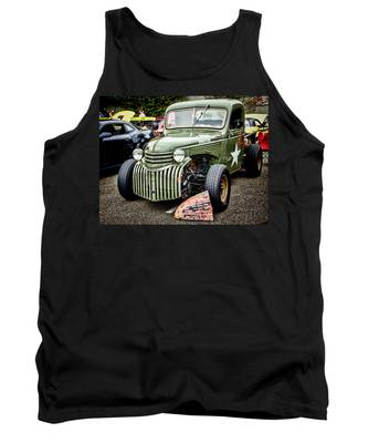 Army Truck Tank Top