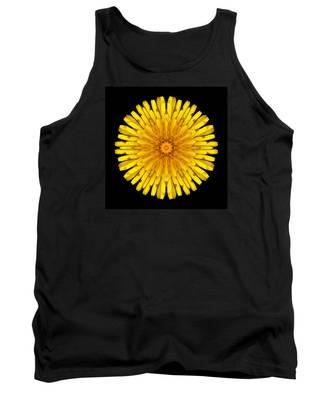 Dandelion Flower Mandala Tank Top