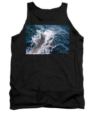 Dolphin Splash Tank Top