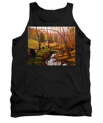 Elby's Cows Tank Top