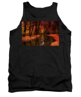 Flowing Through The Colors Of Fall Tank Top