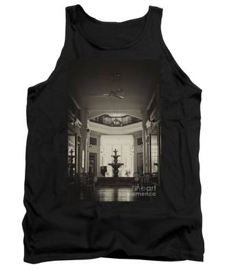 Fountain In The Light Tank Top