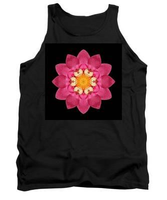 Fragaria Flower Mandala Tank Top