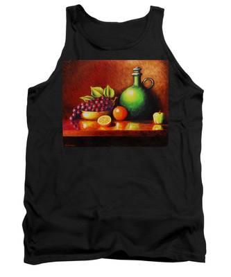 Fruit And Jug Tank Top