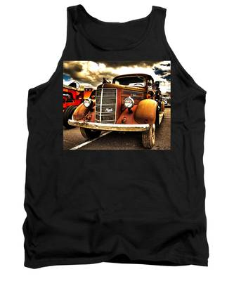 Hdr Fire Truck Tank Top