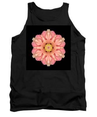 Hibiscus Rosa-sinensis I Flower Mandala Tank Top