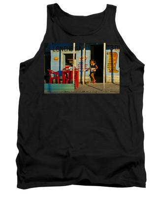 Tank Top featuring the photograph Loncheria by Skip Hunt
