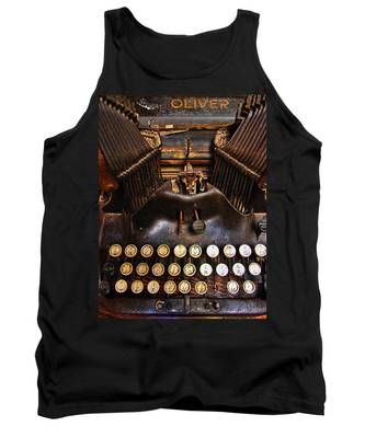 Tank Top featuring the photograph Oliver by Skip Hunt