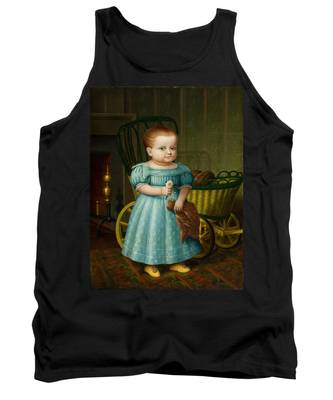 Portrait Of Sally Puffer Sanderson Tank Top