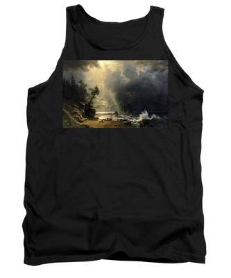 Puget Sound On The Pacific Coast Tank Top