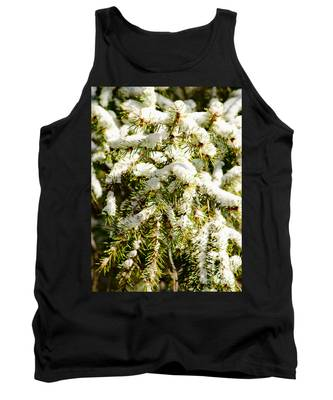 Snowy Pines Tank Top
