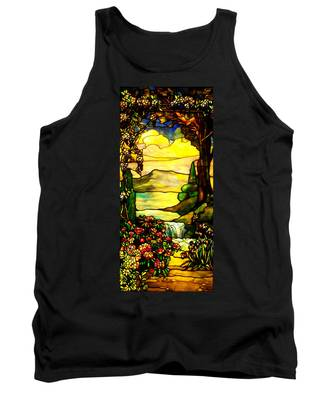 Stained Landscape 2 Tank Top