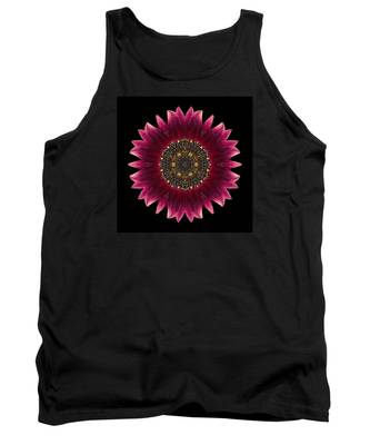 Sunflower Moulin Rouge I Flower Mandala Tank Top