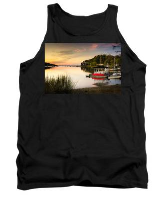 Sunset In Centerport Tank Top