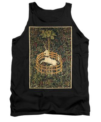 The Unicorn In Captivity Tank Top