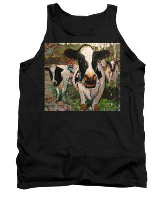 Up Front Cows Tank Top