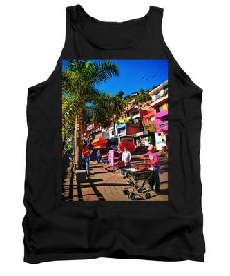 Tank Top featuring the photograph Candy Man by Skip Hunt