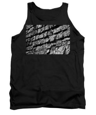 Black Wall Tank Top