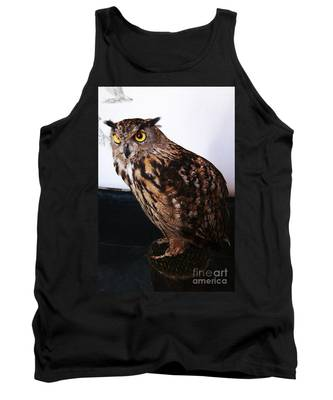 Yellow-eyed Owl Side Tank Top