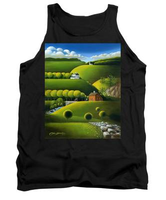 Foothills Of The Berkshires Tank Top