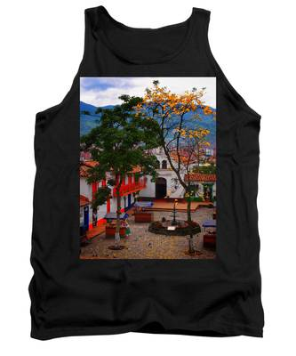 Tank Top featuring the photograph Antioquia by Skip Hunt