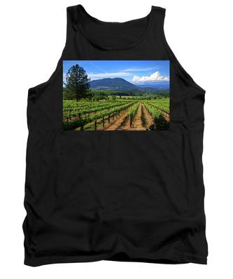 As Far As The Eye Can See Tank Top by Skip Hunt